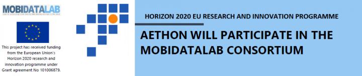 AETHON WILL PARTICIPATE IN THE MOBIDATALAB CONSORTIUM